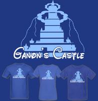 LOZ Ganon's Castle T Shirt by Enlightenup23