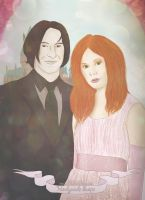 Newlyweds Snape by Nikmarvel