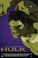 The Incredible Hulk Movie Poster by petemag