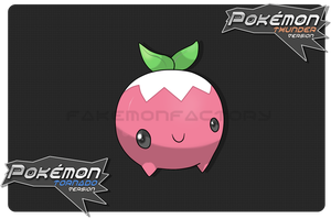 Yummy Berry Pokemon by harikenn