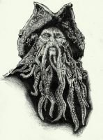 Davy Jones by idahidaya