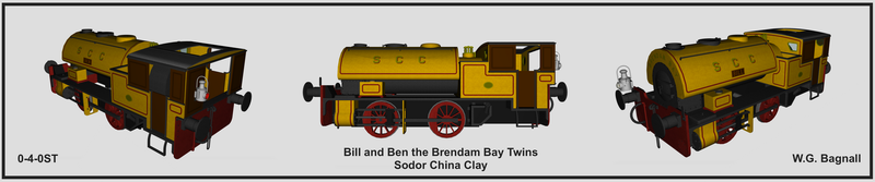 Bill and Ben the Brendam Bay Twins by The-ARC-Minister