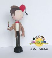 11th Doctor peg doll by tombirrellart