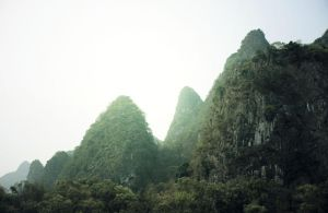 Li River Mountains by ContagiousPixie