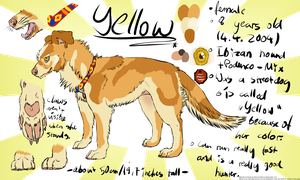 Yellow Reference Sheet 2012 by ElectricSilence