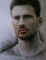 CHRIS evans by A-D-I--N-U-G-R-O-H-O