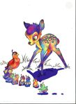psychedelic bambi time by turp