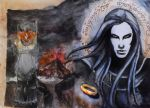 Sauron by Galinaxsim