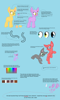Cat-Pony Reference Sheet! (read it!) by nyan-cat-luver2000