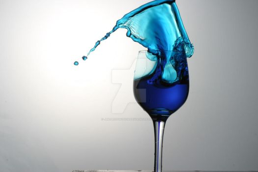 blue wine by JMLproduction