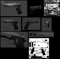 Pistol AO and Color map done by DennisH2010
