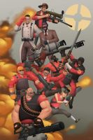 Red Team by Pakebel