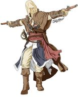Edward Kenway by Skythead