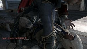 Get off me FATHER ( AC3 gif) by shatinn