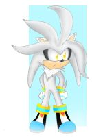 SiLVeR ThE HedGeHog by Cha0zGallAnT