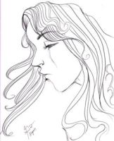 Makiling Face Concept Sketch by tonieliemariae