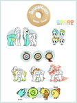 Doughcubs Species Guide by BouncyEars