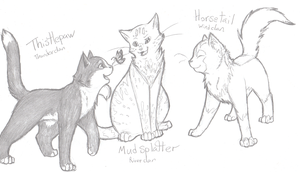 WFC+Medicine cat apprentices+ by min-mew