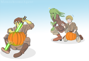 Pumpkin Carving! by MonochromeAgent