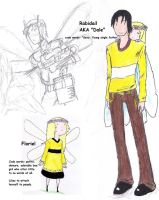 Buzzybee Kingdom: Dale and Floriel by Herbie-and-Company
