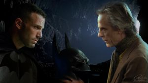 Bruce and Alfred by NicholasCashio