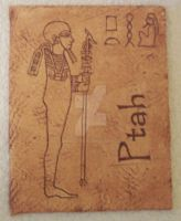Ptah by Annezon