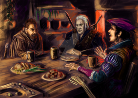 witcher by DeatHerald