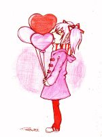 Red Balloons by Danielle-chan