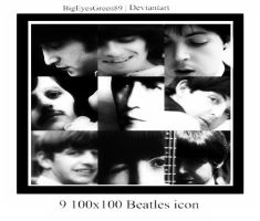 9 New The Beatles icon by BigEyesGreen89