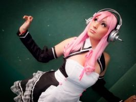 Super Sonico by AngelLiriel