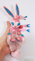 Sylveon Art Doll by IFreischutz