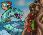Perseus to the Rescue by BrandonSPilcher