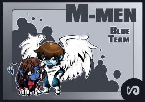 : Blue Team :  M-Men by SaG82