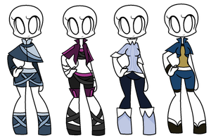 Outfit Adopts 22-25 by SaraBranch