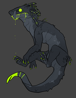 Bio-Luminescent Beast - Gnash by Fettergeist