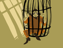 jail bird by Spoonfayse