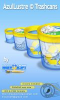AzulLustre Trashcan by Mayosoft