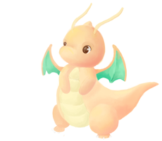 Dragonite WIP by the-newby