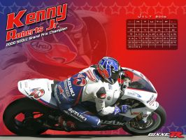 Gixxer.com calendar 7 of 12 by TreborDesigns
