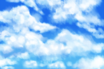 cloudy practice by Moossey
