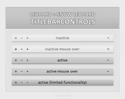 simple OS X Titlebarcontrols by artist00