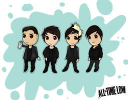 All Time Low Chibi by LawlzLinds