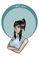 Legend of Korra by MorwenHelyanwe