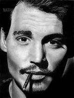 Johnny Depp by LilaeaBluecoat