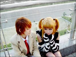 Misa and Light: DN cosplay by dontcallmenymphadora