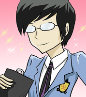Ouran- Kyoya by BladeXD