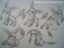 Glaceon 10 by BluuKiss