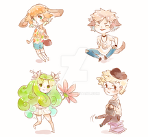 adoptables 4!!-ENDED by P-cate