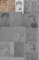 Beatles doodles 2 by Hi3ei
