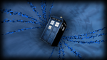 TARDIS in the Vortex by ewized